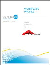 Everything DiSC® Workplace Report